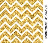 golden geometry glitter... | Shutterstock .eps vector #348066941