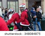 cracow  poland   december 6 ...   Shutterstock . vector #348084875