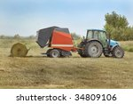 Agriculture Landscape With...