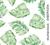 a seamless pattern with the... | Shutterstock . vector #348095354