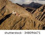 namgyal tsemo gompa  leh ... | Shutterstock . vector #348096671