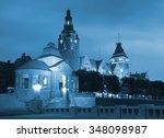 haken terraces in szczecin by... | Shutterstock . vector #348098987