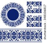 vector set of design elements ...   Shutterstock .eps vector #348106817