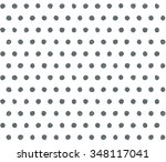 scribble polka dots vector... | Shutterstock .eps vector #348117041