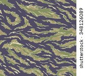 military camouflage textile... | Shutterstock .eps vector #348126089