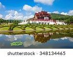 the royal pavilion  ho kham... | Shutterstock . vector #348134465
