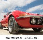 red sport car | Shutterstock . vector #3481350