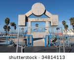 ������, ������: Famous Muscle Beach