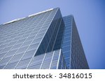 close up of modern building  ... | Shutterstock . vector #34816015