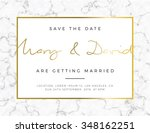 modern card  for invitation or... | Shutterstock .eps vector #348162251