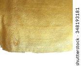 vector golden foil background...   Shutterstock .eps vector #348193181