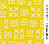 abstract seamless pattern | Shutterstock .eps vector #348194879