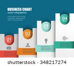 step by step plan for business... | Shutterstock .eps vector #348217274