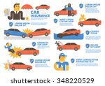 car insurance | Shutterstock .eps vector #348220529