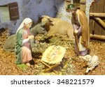 Classic Nativity Scene With...