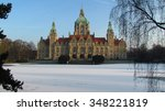 Stock photo hannover rathaus 348221819