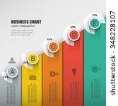 infographic design business... | Shutterstock .eps vector #348228107