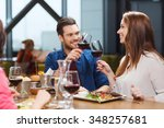 leisure  eating  food and... | Shutterstock . vector #348257681
