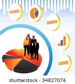 business people | Shutterstock .eps vector #34827076