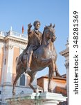 rome  italy august 5  the... | Shutterstock . vector #348281369
