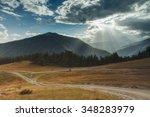 khevsureti mountains georgia... | Shutterstock . vector #348283979