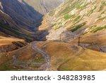 khevsureti mountains georgia... | Shutterstock . vector #348283985