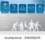 universal design vector 3 | Shutterstock .eps vector #348308249