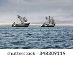 Fishing Boats In The Bay Of Th...
