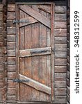 Stylized Antique Wooden Door...