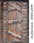 Stylized Antique Wooden Door...