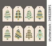 vector set of colored templates ... | Shutterstock .eps vector #348320891