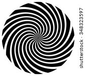 Abstract Spiral Element....