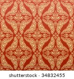 red decorative royal seamless... | Shutterstock . vector #34832455