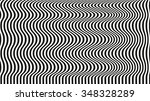 optical illusion art background.... | Shutterstock .eps vector #348328289