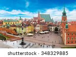 Panoramic View Of Warsaw In A...