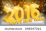 happy new year  greeting... | Shutterstock .eps vector #348347261