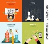 vector illustration. flat... | Shutterstock .eps vector #348350189