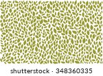 leaves pattern | Shutterstock .eps vector #348360335