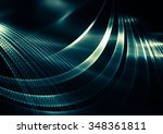 unique and spectacular abstract ... | Shutterstock . vector #348361811