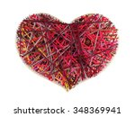 Panel Of Heart Shaped Made Of...
