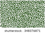 leaves rustic pattern | Shutterstock .eps vector #348376871