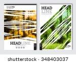 business brochure design... | Shutterstock .eps vector #348403037