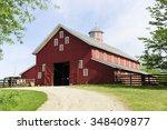 a springtime image taken on the ... | Shutterstock . vector #348409877