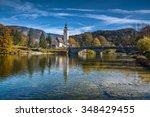 Mountain Lake In Autumn   Lake...