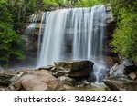 river background with small... | Shutterstock . vector #348462461