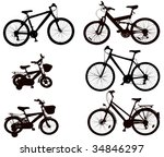 bicycle | Shutterstock . vector #34846297