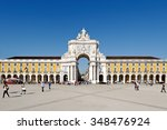 lisbon   november 08  2015... | Shutterstock . vector #348476924