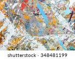 abstract colorful texture... | Shutterstock . vector #348481199