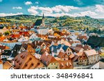 St. Vitus Church And Cityscape...