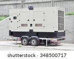 Mobile Diesel Generator On The...